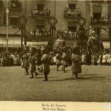 Postales: OLOT - BAILE DE ENANOS. Lote 142040926