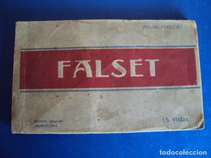(PS-58960)BLOCK DE 15 POSTALES DE FALSET-FOTO ROISIN (Postales - España - Cataluña Antigua (hasta 1939))