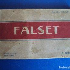Postales: (PS-58960)BLOCK DE 15 POSTALES DE FALSET-FOTO ROISIN. Lote 142154530