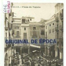 Postales: (PS-58967)POSTAL FOTOGRAFICA DE VALLS-PLAZA DE TOPETE. Lote 142221550