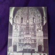 Postales: POSTAL 450 TARRAGONA CATEDRAL ALTAR MAYOR. Lote 142352182
