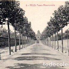 Postales: REUS - 8 PASEO MISERICORDIA. Lote 142568818