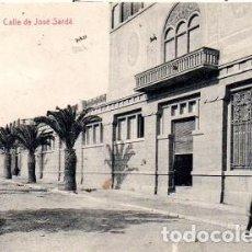 Postales: REUS - 18 CALLE DE JOSÉ SARDÁ. Lote 142568998