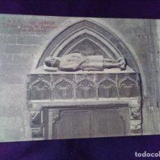 Postales: POSTAL 572 GERONA CATEDRAL TUMBA DE BERENGUER ( CAP D ESTOPES) TOLDRA SIN CIRCULAR. Lote 142584158