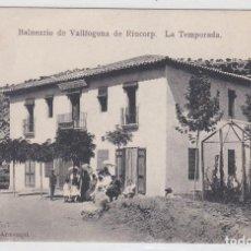 Postales: BALNEARIO DE VALLFOGONA DE RIUCORP, RIUCORB, LA TEMPORADA, TARRAGONA. Lote 142725350