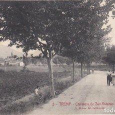 Postales: TREMP, CARRETERA DE SAN ANTONIO, LERIDA. Lote 142803766
