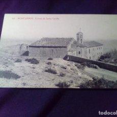 Postales: POSTAL MONTSERRAT 48 ERMITA DE SANTA CECILIA SIN CIRCULAR THOMAS. Lote 143074842