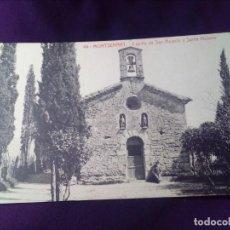 Postales: POSTAL MONTSERRAT 44 CAPILLA DE SAN ACISCLO Y SANTA VICTORIA SIN CIRCULAR THOMAS. Lote 143075190