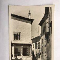 Postales: SITGES (BARCELONA) POSTAL NO.4, RINCÓN DE LA CALMA Y CAU FERRAT. EDITA: FOTO R.GASSO (H.1950?). Lote 143337504