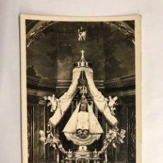 Postales: SITGES (BARCELONA) POSTAL NO.16, SANTUARIO DE NTRA. SRA. DEL VINYET .CAMARIN DE LA VIRGEN (H.1950?). Lote 143341492