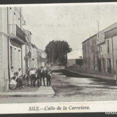 Postales: SILS-CALLE DE LA CARRETERA-POSTAL ANTIGA-(55.188). Lote 143471202