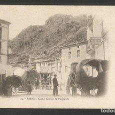 Postales: RIBAS-COCHE CORREO DE PUIGCERDA-POSTAL ANTIGA-(55.190). Lote 143472554