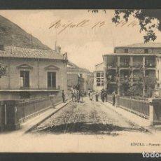 Postales: RIPOLL-FUENTE DE LA ESTACION-COLECCION MAURI-POSTAL ANTIGA-(55.197). Lote 143478126