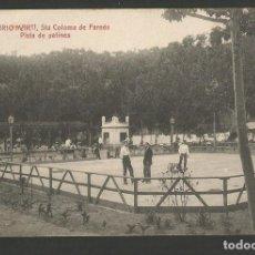 Postales: SANTA COLOMA DE FARNES-BALNEARIO MARTI-PISTA DE PATINES-ANGEL TOLDRA VIAZO-POSTAL ANTIGA-(55.213). Lote 143492642