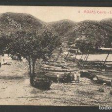 Postales: ROSAS-BARRIO LA PUNTA-6-THOMAS-POSTAL ANTIGA-(55.219). Lote 143507574