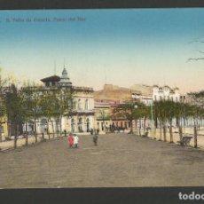 Postales: SANT FELIU DE GUIXOLS-PASEO DEL MAR-A.T.V. 3097-POSTAL ANTIGA-(55.229). Lote 143526750