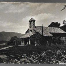 Postales: POSTAL DE MONTSENY, HOTEL SAN BERNAT. FOTO M. MATEO. CIRCULADA.. Lote 143751606