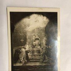 Postales: SITGES (BARCELONA) POSTAL CAPILLA DE LA VIRGEN. SANTUARIO DEL VINYET. EDITA:LOTY (H.1950?). Lote 143852441
