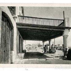 Postales: BARCELONA VILANOVA I GELTRU CASAS DE PESCADORS AL TRAJO DE LLEVANT. ED. INST. GRAFIC OLIVA. Lote 144039810