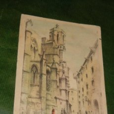 Postales: BARCELONA, CALLE DE LOS CONDES DE BARCELONA: EDITOR S.I.D.E. Nº 5. Lote 144053642