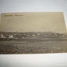 Postales: (ALB-TC-40) INTERESANTE POSTAL SAMPEDOR VISTA GENERAL CIRCULADA SIN SELLO . Lote 144300810