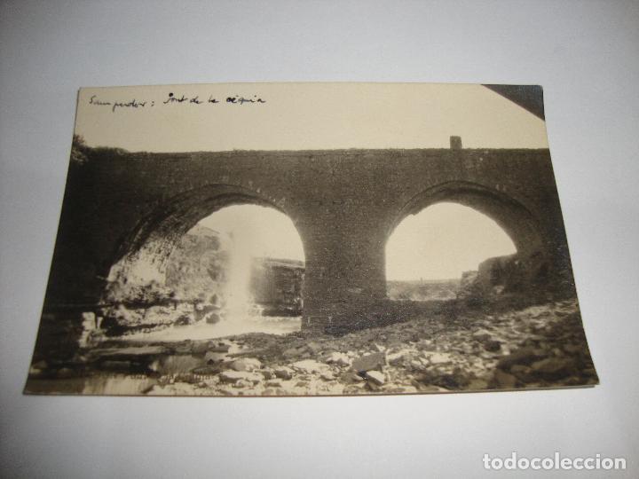 (ALB-TC-40) INTERESANTE POSTAL SAMPEDOR FONT DE LA ACEQUIA SIN CIRCULAR (Postales - España - Cataluña Antigua (hasta 1939))
