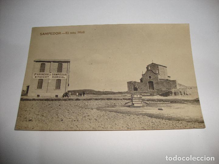 (ALB-TC-40) INTERESANTE POSTAL SAMPEDOR EL NOU MOLI SIN CIRCULAR (Postales - España - Cataluña Antigua (hasta 1939))