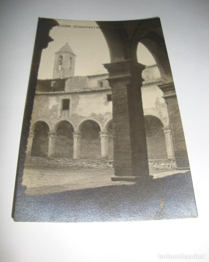 (ALB-TC-40) INTERESANTE POSTAL SAMPEDOR CLAUSTRES I CAMPANA ANTIC COVENT SIN CIRCULAR (Postales - España - Cataluña Antigua (hasta 1939))