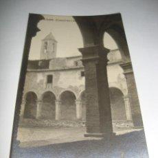 Postales: (ALB-TC-40) INTERESANTE POSTAL SAMPEDOR CLAUSTRES I CAMPANA ANTIC COVENT SIN CIRCULAR. Lote 144301670