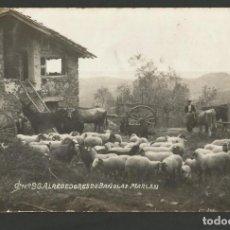 Postales: BANYOLES-ALREDEDORES DE BAÑOLAS-POSTAL ANTIGA-(55.596). Lote 145005270