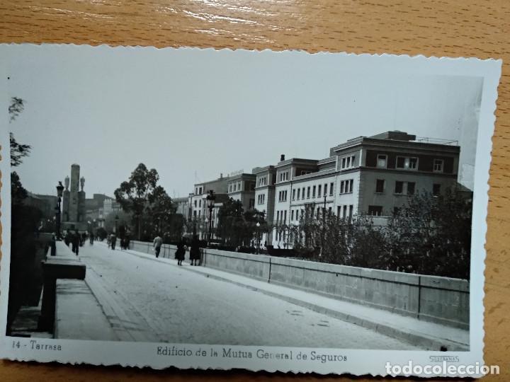 BARCELONA TARRASA MUTUA GENERAL DE SEGUROS. 14 (Postales - España - Cataluña Moderna (desde 1940))
