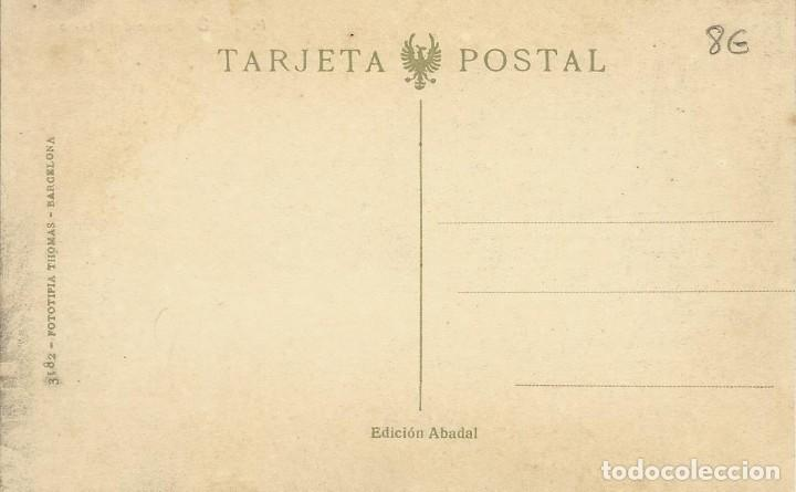 Postales: POSTAL DE MATARÓ FUENTE DEL PERICÓ. EDICIÓN ABADAL. NO CIRCULADA. TARJETA POSTAL. FOTOTIPIA THOMAS. - Foto 2 - 145192302