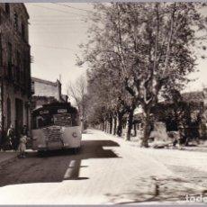 Postales: M - BARCELONA - SANT PERE PEDRO DE RIUDEVITLLES - COCHE LINEA LA LLACUNA - SANT SADURNI D'ANOIA. Lote 145975390