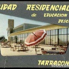 Postales: TARRAGONA CIUDAD RESIDENCIA EDUCACION Y DESCANSO. BLOC DESPLEGABLE CON 8 POSTALES ED. AGATA . Lote 146023490