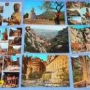 Postales: LOTE DE 77 POSTALES + 1 LIBRILLO DE MONTSERRAT. Lote 146136554