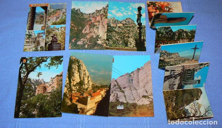 Postales: LOTE DE 77 POSTALES + 1 LIBRILLO DE MONTSERRAT - Foto 9 - 146136554