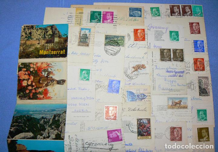 Postales: LOTE DE 77 POSTALES + 1 LIBRILLO DE MONTSERRAT - Foto 12 - 146136554