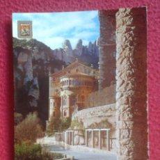 Postales: POSTAL POST CARD CARTE POSTALE BARCELONA MONASTERIO DE MONTSERRAT ÁBSIDE DE LA BASÍLICA CATALUNYA VE. Lote 146195926