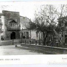 Postales: LLEIDA GUISSONA PORTAL DE L'ANGEL ED. FOTO SANTACANA. POSTAL FOTOGRÁFICA, CIRCULADA. Lote 146281422