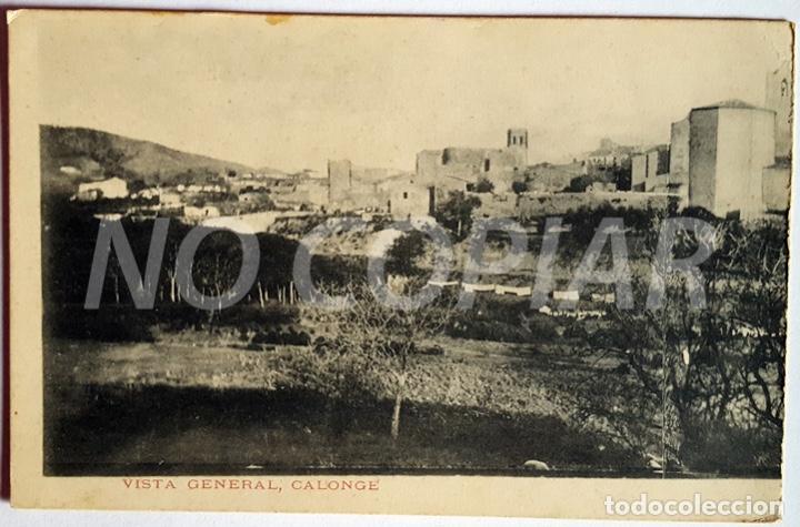 Postales: 4 POSTALES ANTIGUAS DE CALONGE. NUEVAS. SIN USO. - Foto 4 - 146295454