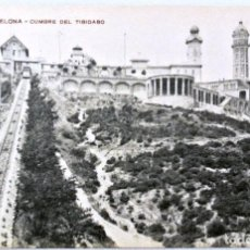 Postales: TARJETA POSTAL 86 - BARCELONA CUMBRE DEL TIBIDABO , SIN CIRCULAR , MISSÈ HS. BARNA.. Lote 146381274