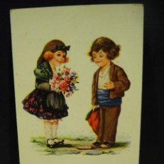 Postales: PARELLES CATALANES CATALANA , ILUSTRADA POR J. IBAÑEZ - EDICIONES COLL SALIETI - AÑOS 1920 . Lote 146422494