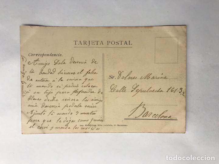Postales: VERDU (Lerida) Postal No. 10, Plaza de La Constitución. Edita: Imp.Elzeviriana (h.1920?) - Foto 2 - 146602957