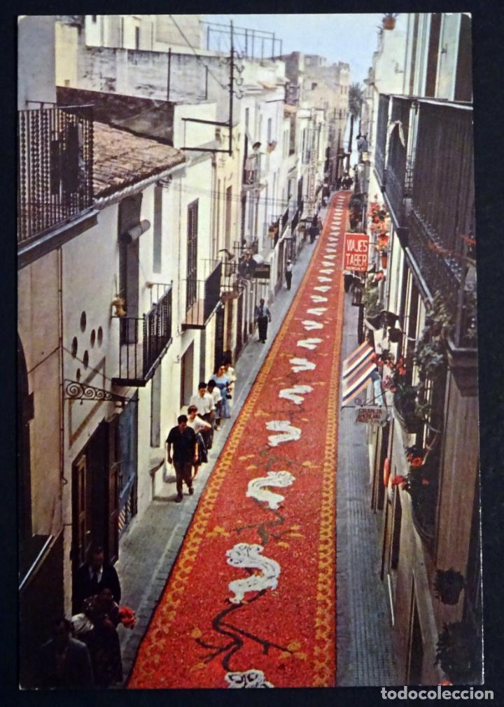 Postales: Colección de 10 postales de las alfombras de flores del Corpus de Sitges - Foto 4 - 146637710