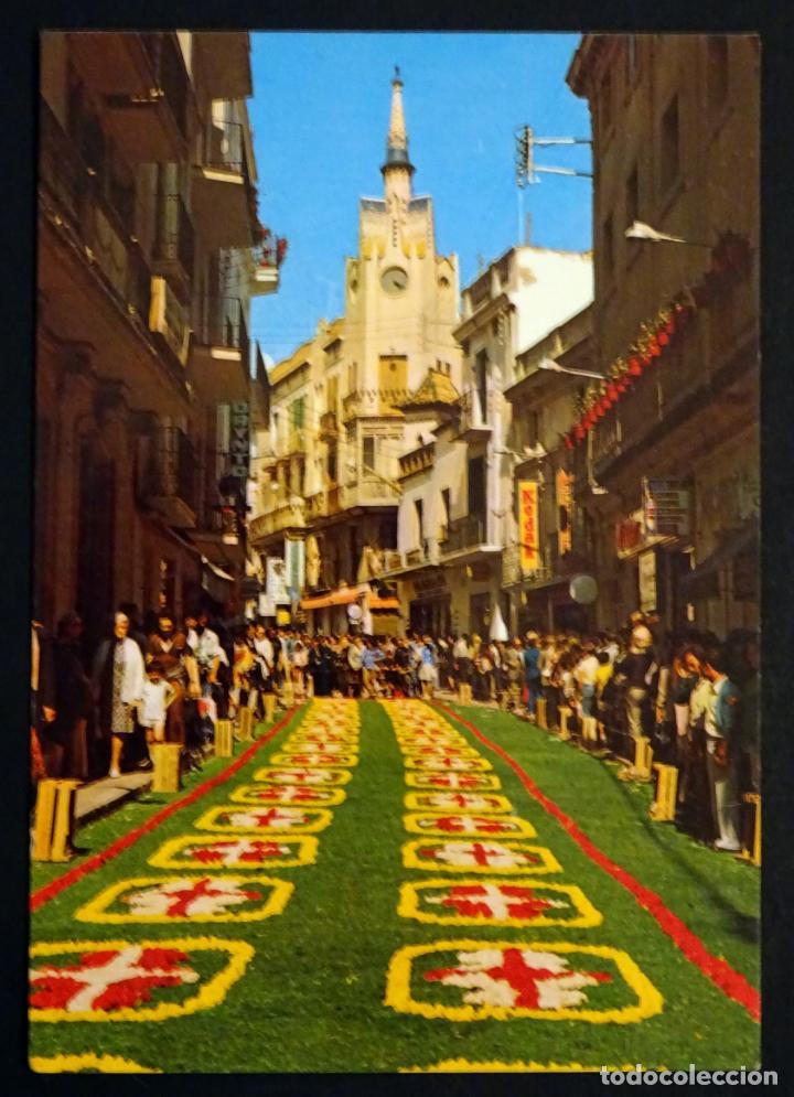 Postales: Colección de 10 postales de las alfombras de flores del Corpus de Sitges - Foto 5 - 146637710