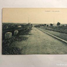 Postales: FIGUERAS (GERONA) POSTAL. VISTA GENERAL. EDITA: JOSÉ MASDEVALL (H.1930?). Lote 146739025