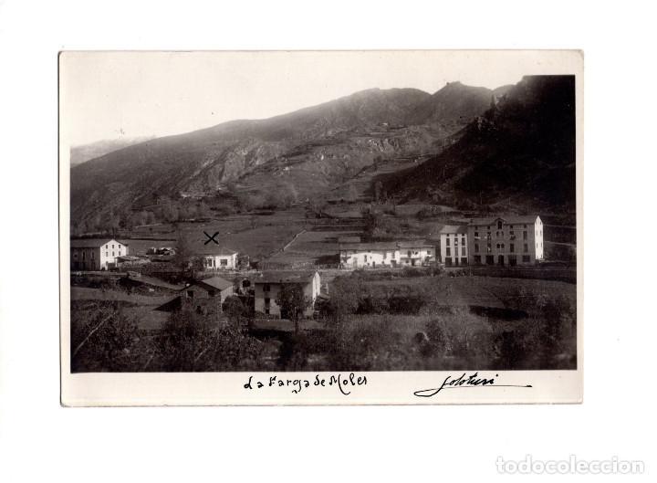 LA FARGA DE MOLES (LLEIDA) 1945 POSTAL FOTOGRÁFICA. (Postales - España - Cataluña Antigua (hasta 1939))