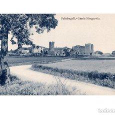 Postales: PALAFRUGELL.(GERONA).- SANTA MARGARITA. Lote 147087814