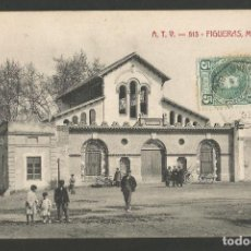 Postales: FIGUERAS-MATADERO-ATV 513-POSTAL ANTIGUA-(56.087). Lote 147211658