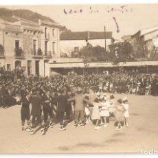 Postales: CASTELLTERSOL (BARCELONA) PLAZA MERCADAL. BAILE DE GITANAS. POSTAL FOTOGRÁFICA.. Lote 147396730